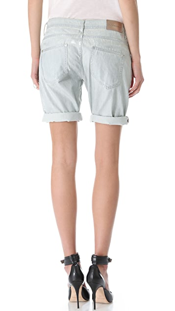 Faith Connexion Washed Chambray Shorts