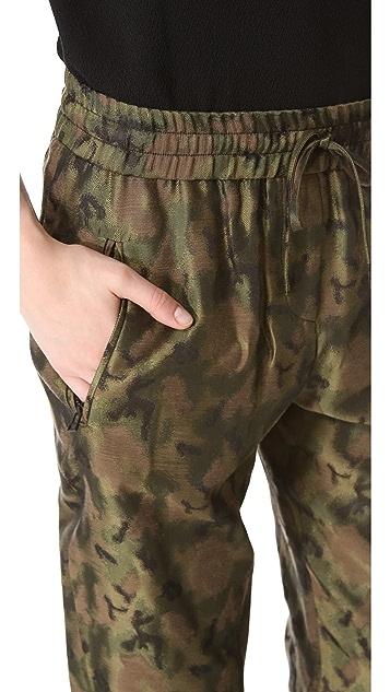 Faith Connexion Jacquard Loose Pants