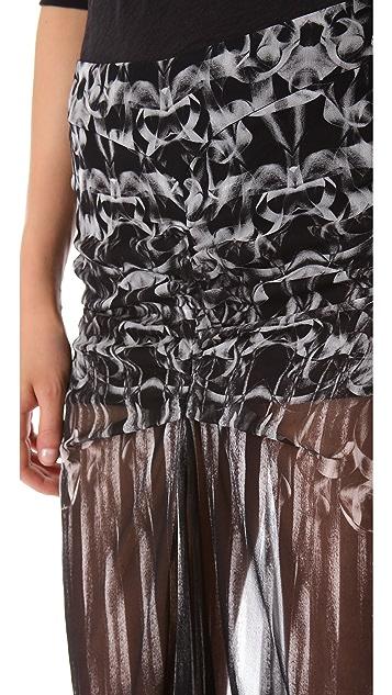 Faith Connexion Kaleidoscope Gathered Skirt