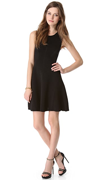 Faith Connexion Black Flared Dress
