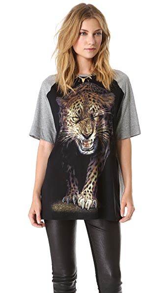Faith Connexion Leopard T-Shirt