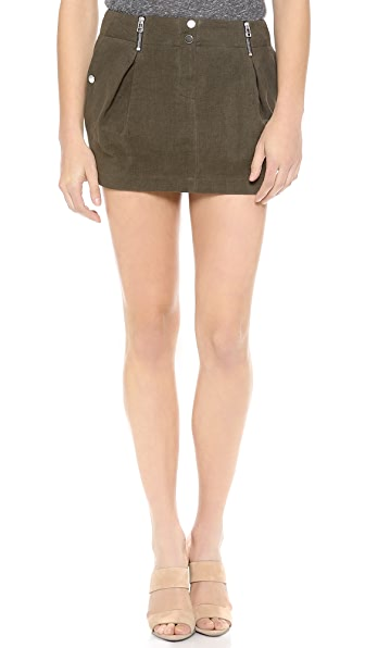 Faith Connexion Pleated Miniskirt