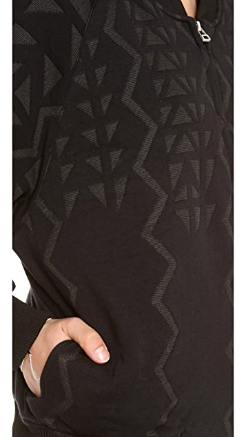 Faith Connexion Jacquard Fleece Jacket