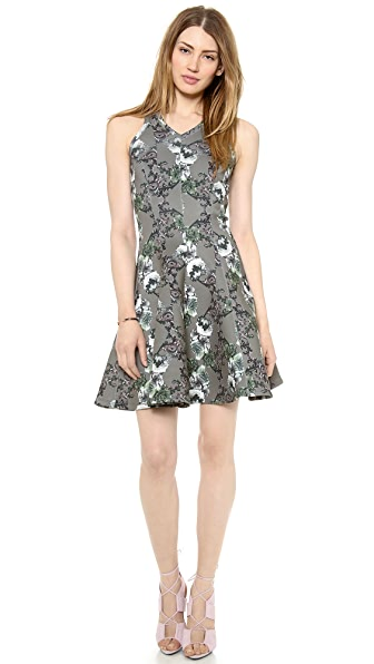 Faith Connexion Crown Printed Neoprene Dress