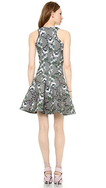 Faith Connexion Crown Printed Neoprene Dress