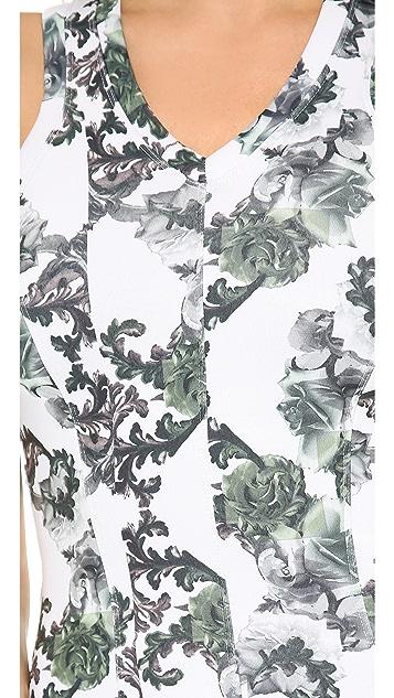 Faith Connexion Crown Print Neoprene Dress