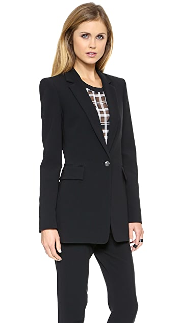 Faith Connexion Crepe Suiting Jacket