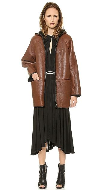 Faith Connexion Reversible Leather Coat