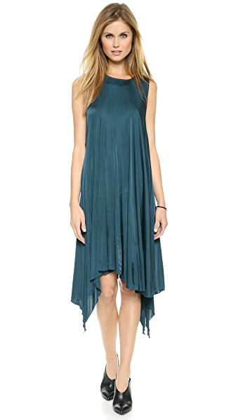Faith Connexion Draped Jersey Dress
