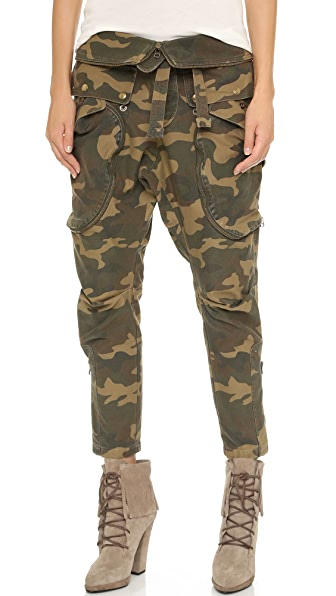Faith Connexion Camo Cargo Pants