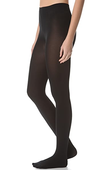 Falke Pure Matte 100 Tights - Black