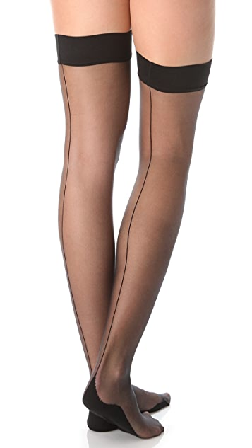 Falke High Heel Stay Up Tights