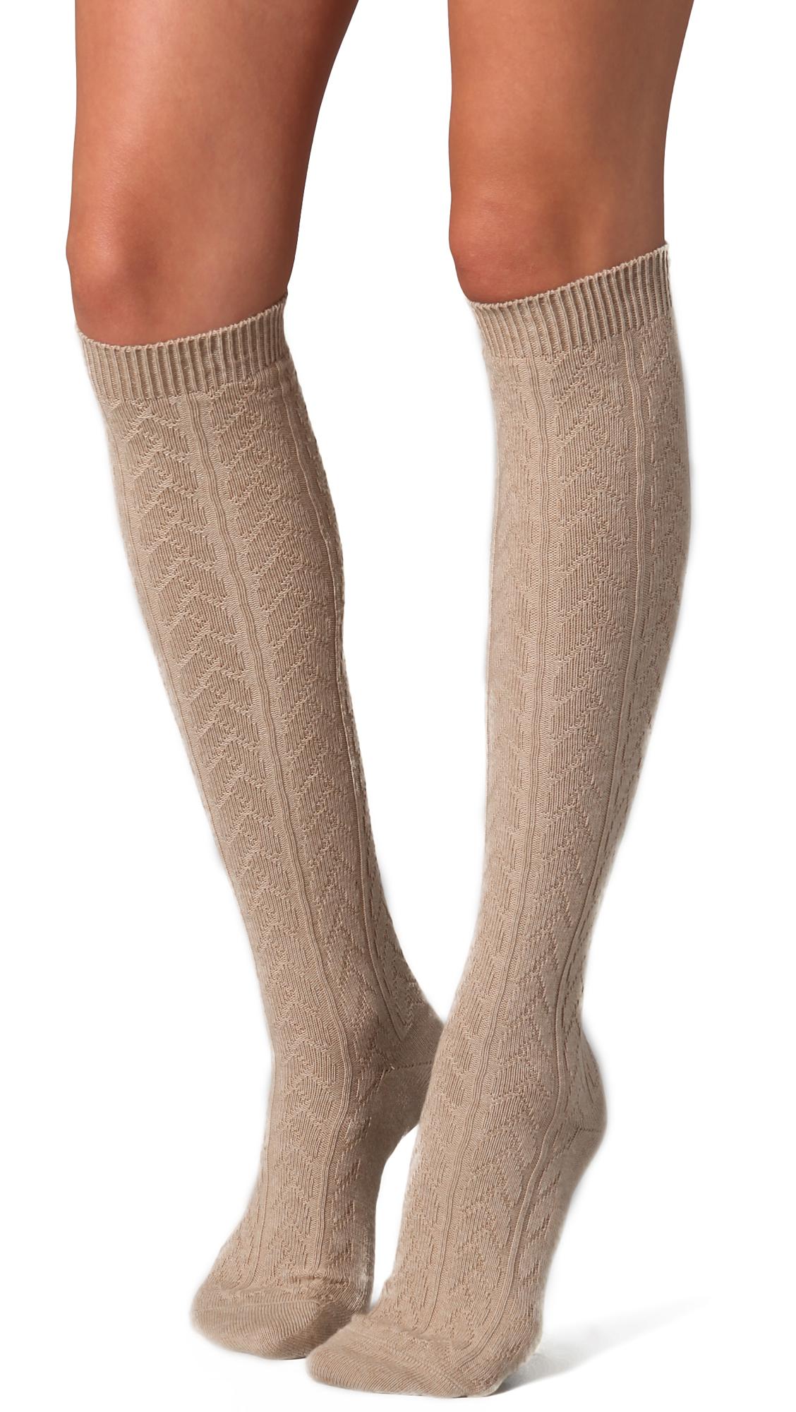 c031f84bdf2 Falke Striggings Cable Knit Knee High Socks