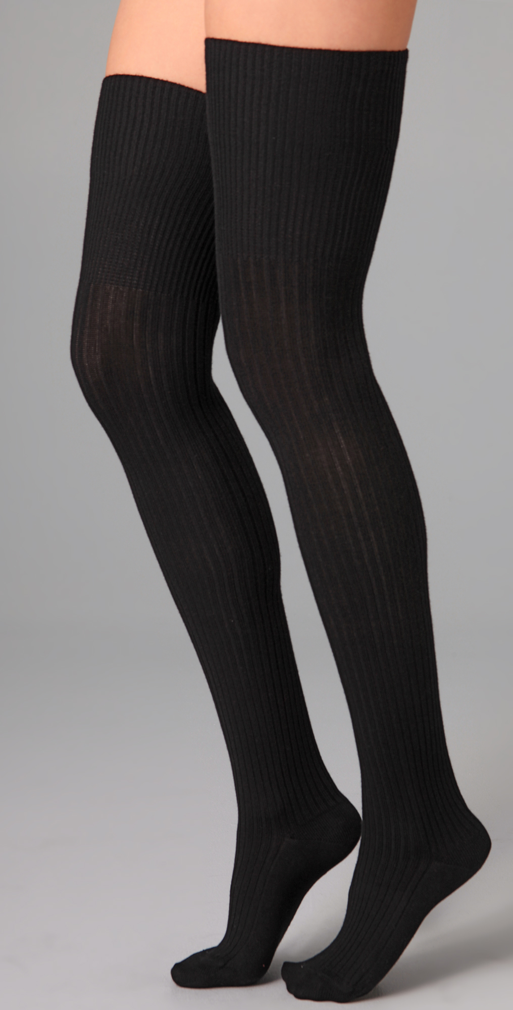 a0a067330 Falke Striggings Ribbed Over the Knee Socks