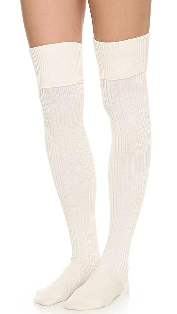 Falke Striggings Ribbed Over the Knee Socks