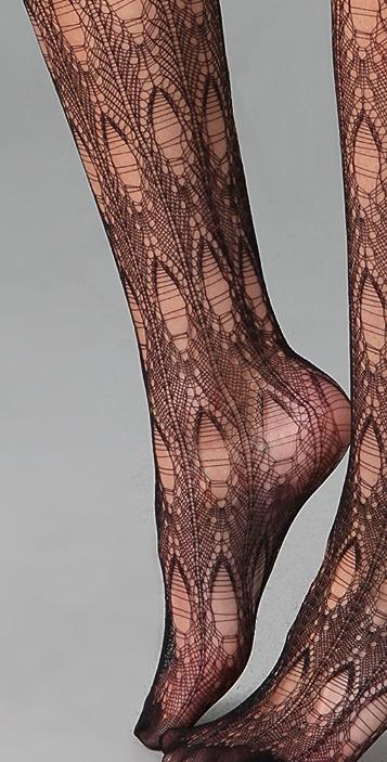 Falke Net Crochet Tights