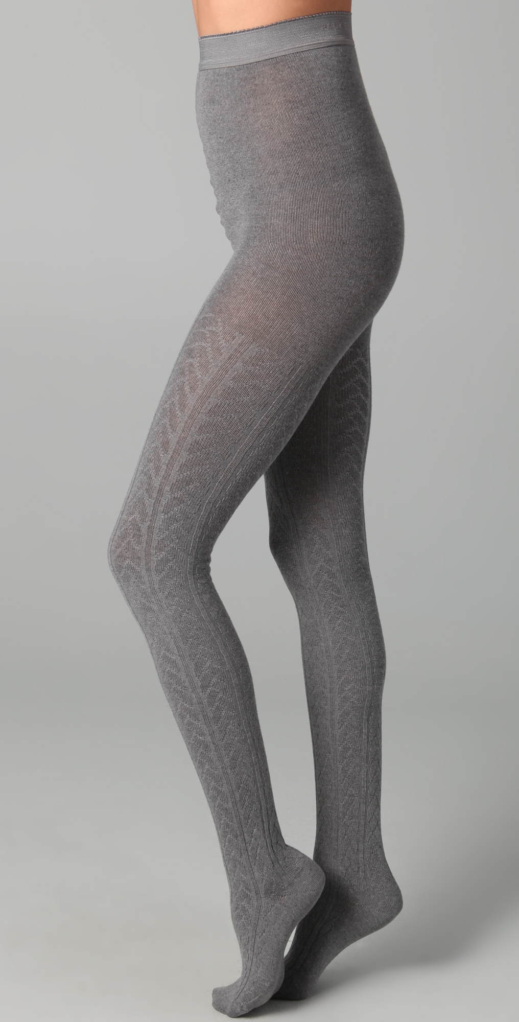 Cable Knit Tights - The BodyProud Initiative