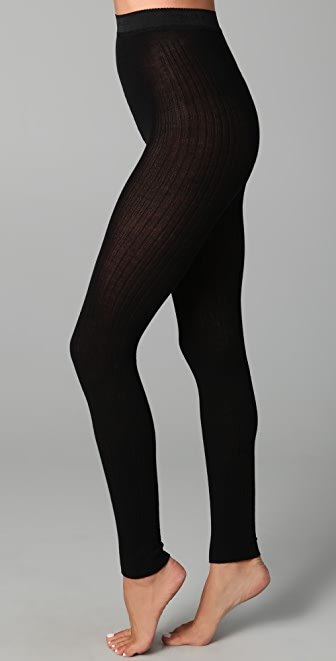 Falke Striggings Ribbed Footless Tights