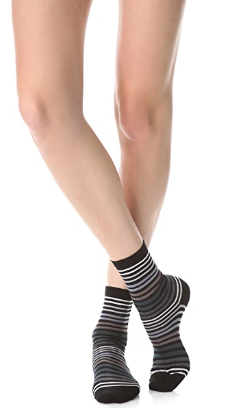 Falke Family Striped Ankle Socks
