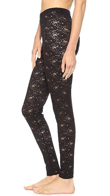 Falke Floral Lace Leggings