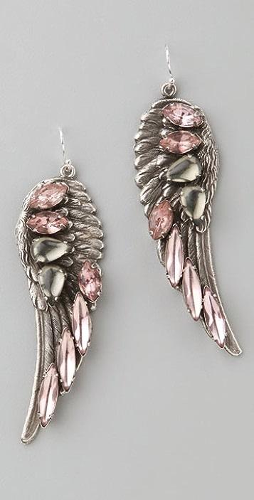 Fallon Jewelry Hells Angels Earrings