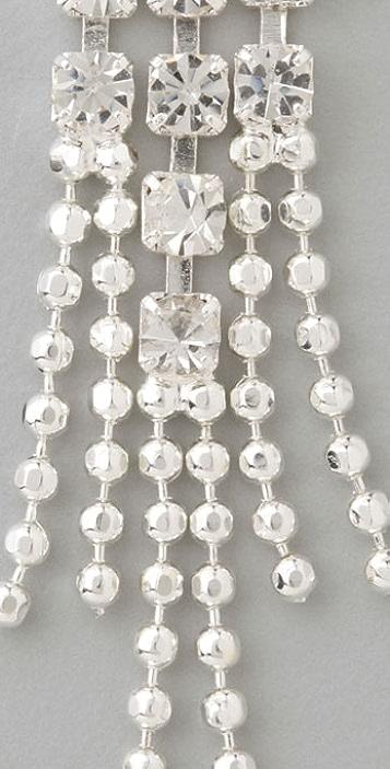 Fallon Jewelry Crystal Ball Drop Earrings