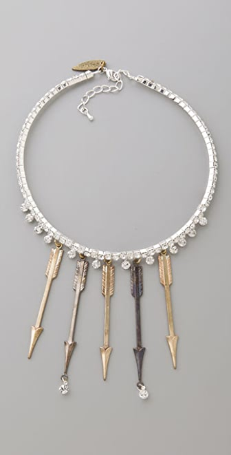 Fallon Jewelry Arrow Bib Necklace