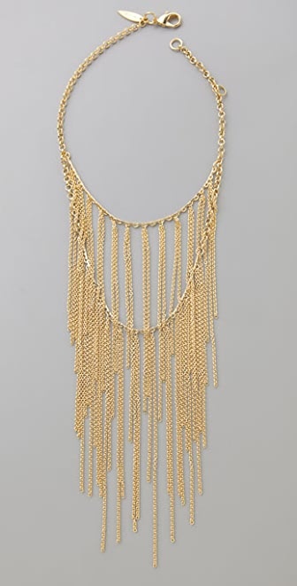 Fallon Jewelry Double Tier Fringe Necklace