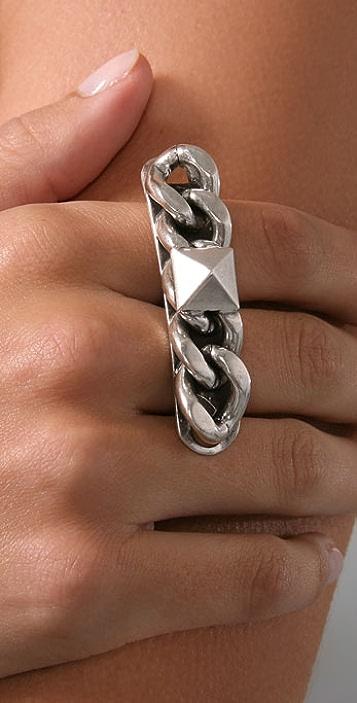 Fallon Jewelry Chain Bar Ring