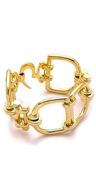 Fallon Jewelry Classique D Ring Bracelet