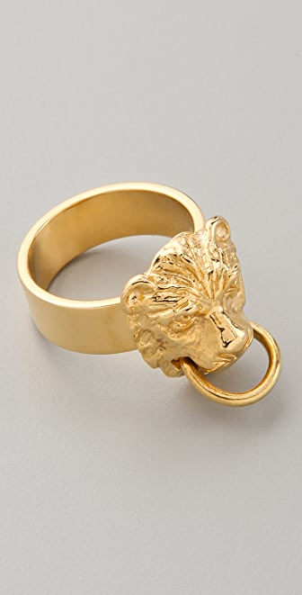 Fallon Jewelry Gia Lion Ring