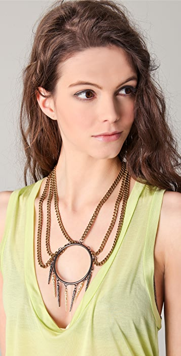Fallon Jewelry Tatjana Three Strand Necklace