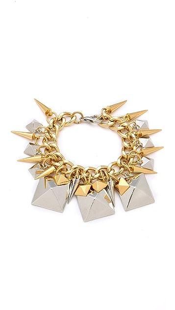 Fallon Jewelry Extra Large Stud Charm Bracelet