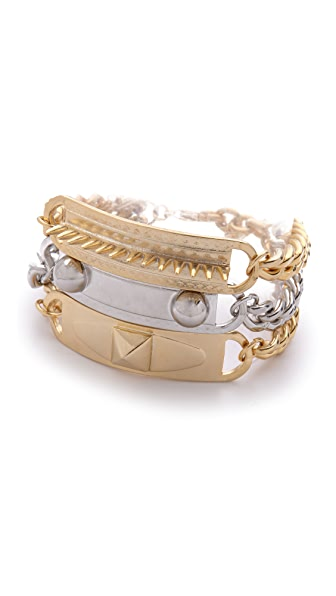 Fallon Jewelry ID Collage Bracelet