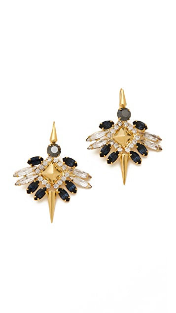 Fallon Jewelry Winged Earrings