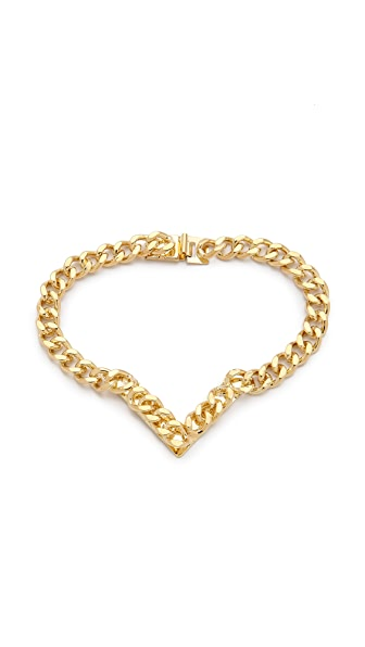 Fallon Jewelry Jagged Track Bracelet