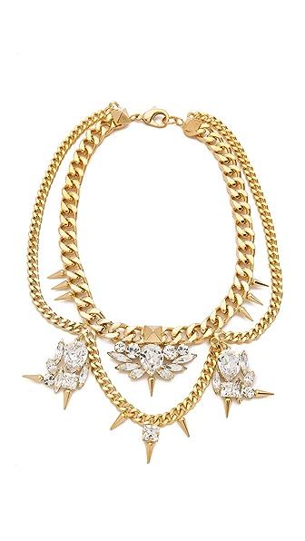 Fallon Jewelry Classique Crystal Necklace
