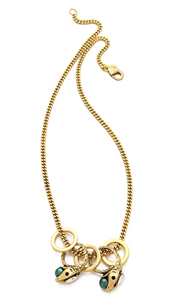 Fallon Jewelry Rattlesnake Necklace