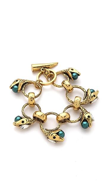 Fallon Jewelry Rattlesnake Linked Bracelet