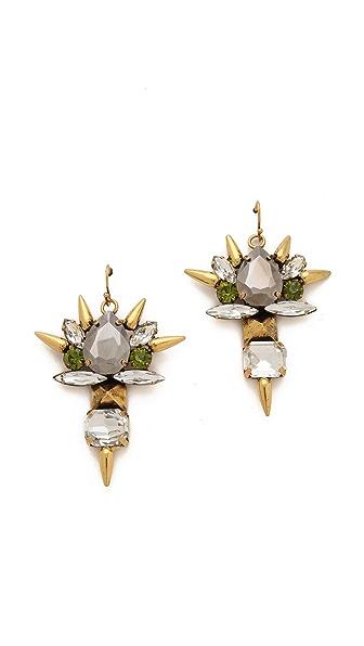 Fallon Jewelry Roswell Micro Spike Cluster Earrings