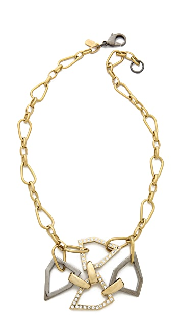 Fallon Jewelry Hex Pendant Necklace