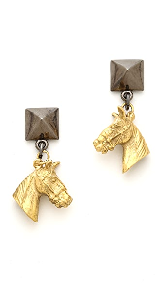 Fallon Jewelry Stallion Earrings