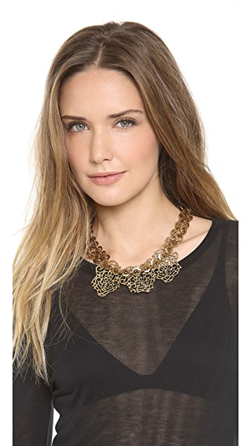 Fallon Jewelry Filigree Bib Necklace