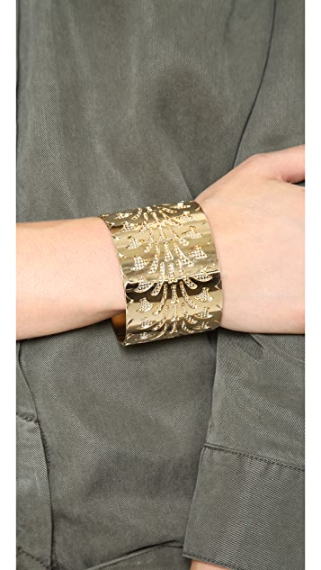 Fallon Jewelry Filigree Cuff Bracelet