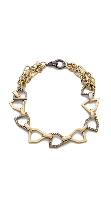 Fallon Jewelry Hex Collar Necklace