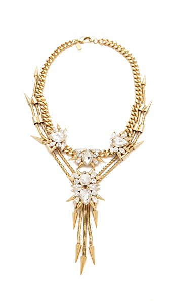 Fallon Jewelry Roswell Cluster V Necklace