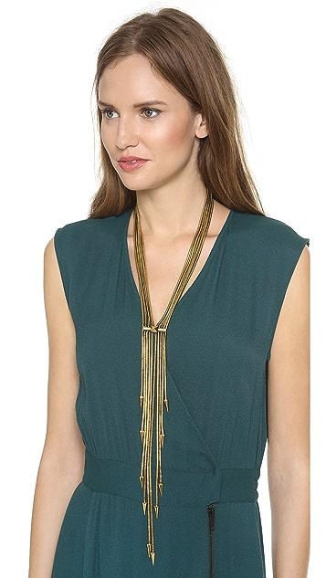 Fallon Jewelry Snake Tassel Necklace