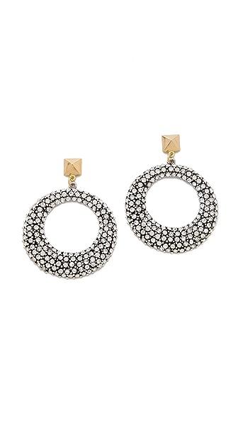 Fallon Jewelry Pave Earrings