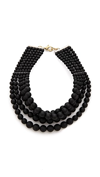 Fallon Jewelry Layered Swarovski Bead Choker