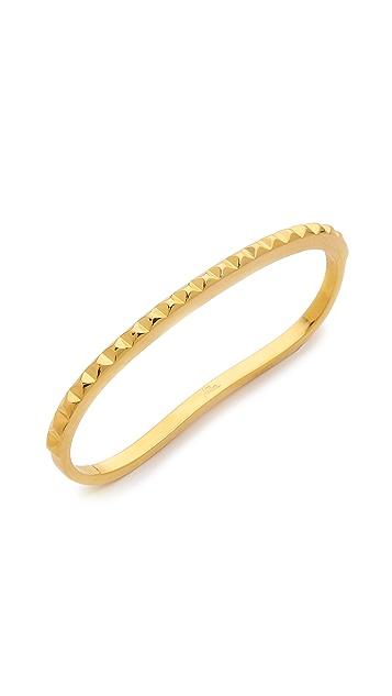 Fallon Jewelry Studded Palm Cuff Bracelet